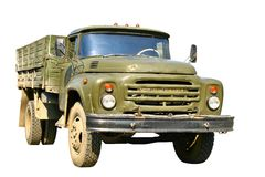 Green military truck Royalty Free Stock Photography