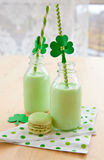 Green Milkshake Royalty Free Stock Photo