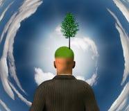 Green Mind stock illustration