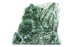 Green mineral with chlorine Stock Photography