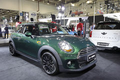 Green mini car Royalty Free Stock Image