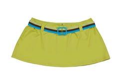Green miniskirt Stock Photo