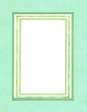 Green mint frame. Royalty Free Stock Photography