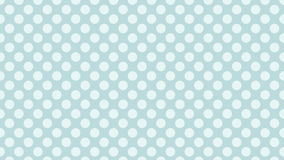 Green mint polka dot pattern background Stock Image