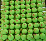 Green Mochi Stock Photography