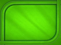 Green mock croc or alligator skin background with stitched patte. Rn. Large resolution Stock Photos