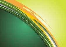 Green Modern Colorful Background Stock Photography