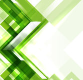Green modern geometric absract background Royalty Free Stock Photo
