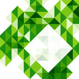 Green modern geometric design template Royalty Free Stock Images