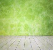 Green modern interior Stock Photos