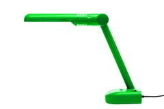 Green modern lamp Royalty Free Stock Image