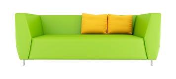 Green modern sofa Royalty Free Stock Image