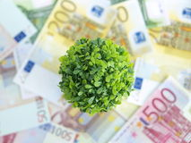 Green money Stock Photo