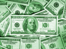 Green money background Royalty Free Stock Photos