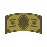 Green money bill Royalty Free Stock Photography