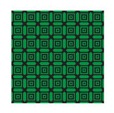 Green monochrome geometrical patterns. Vector, EPS 10 Stock Image