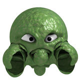 Green monster Royalty Free Stock Image