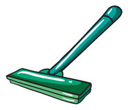 A green mop Stock Photography