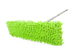 Green mop Stock Photo