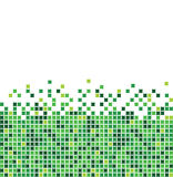 Green mosaic Royalty Free Stock Photography