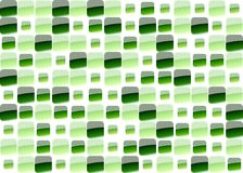 Green mosaic. Green glass mosaic in various size Royalty Free Stock Photo