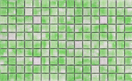 Green mosaic Stock Photos