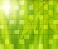 Green mosaic Stock Photo