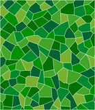 Green mosaic. The seamless texture mosaic green. Vector illustration Stock Photos