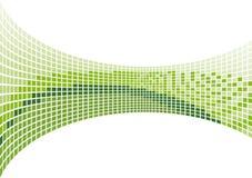 Green mosaic royalty free illustration