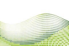 Green mosaic stock illustration