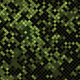 Green mosaic Stock Images
