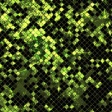 Green mosaic02 Stock Photography
