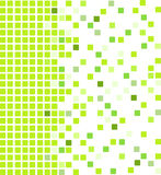 Green mosaic background stock illustration