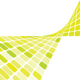 Green mosaic background Royalty Free Stock Photos