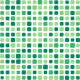 Green mosaic background Stock Photos