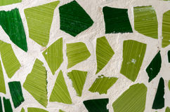Green mosaic. For Background purpose Stock Photography