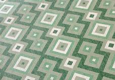 Green Mosaic Floor Royalty Free Stock Photo