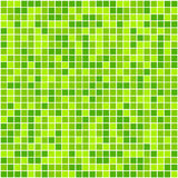 Green mosaic illustration Stock Photo