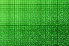Green mosaic pattern Royalty Free Stock Images
