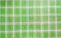 Green mosaic tile Royalty Free Stock Image