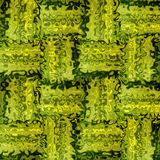 Green mosaic tiles background Royalty Free Stock Images
