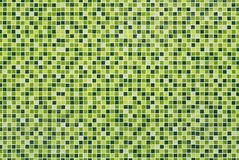 Green mosaic tiles Royalty Free Stock Images