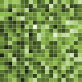 Green mosaic Stock Image