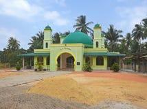 Green mosque, Batam Royalty Free Stock Photos