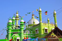 Green Mosque Stock Images