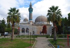 Green Mosque Yesil Cami in Iznik. Royalty Free Stock Photo