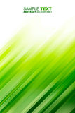 Green motion abstract background Stock Images