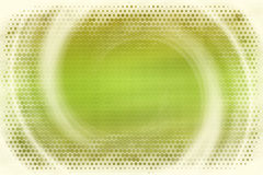 Green motion abstract background. With dotted border Royalty Free Stock Photography