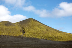 Green mountain Stock Image