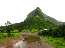 Green mountain in India Royalty Free Stock Image